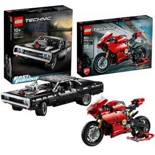 LEGO Technic: scelta tra Dom's Dodge Charger 42111 o Ducati Panigale V4 R 42107 | Asta online sicura e affidabile su Baazr