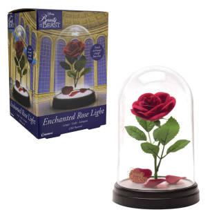 Disney la Bella e la Bestia Rosa incantata - Lampada | Asta online sicura e affidabile su Baazr
