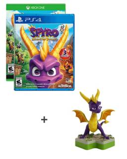 Baazr - Spyro Reignited Trilogy PS4/XBOXONE + Figure TOTAKU™  Spyro The Dragon