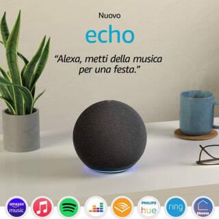 Nuovo Echo (4ª generazione) - hub per Casa Intelligente e Alexa | Asta online sicura e affidabile su Baazr