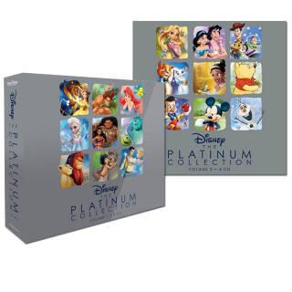 Disney: The Platinum Collection Vol.1 e 2 - Le canzoni più belle | Asta online sicura e affidabile su Baazr
