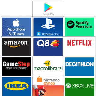 Buono da 30€ a scelta tra 13 tipi   Asta online sicura e affidabile su Baazr
