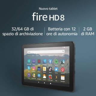Nuovo tablet Fire HD 8 | Asta online sicura e affidabile su Baazr