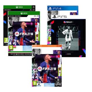 FIFA 21 - a scelta tra PC PS4 PS5 Xbox ONE Xbox X   Asta online sicura e affidabile su Baazr