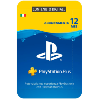 Baazr - PlayStation Plus Card 12 Mesi (Digitale)