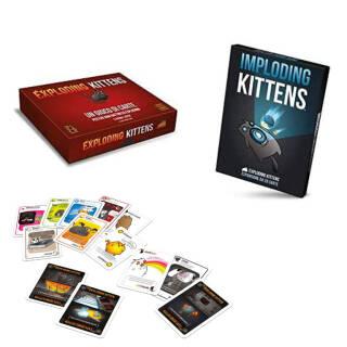 Asmodee Exploding Kittens & Imploding Kittens-Espansione Gioco Da Tavolo | Asta online sicura e affidabile su Baazr