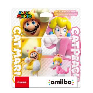 Amiibo Mario Gatto E Peach Gatto (Double Pack) - Limited | Asta online sicura e affidabile su Baazr