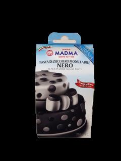 Baazr - Pasta di Zucchero Nero Modellabile 250g Madma