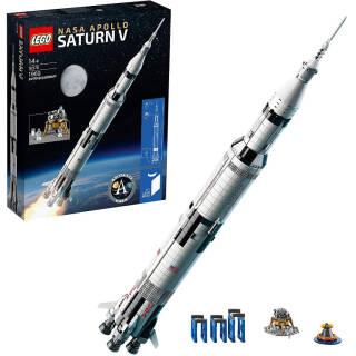 LEGO Ideas Saturn V Apollo NASA, Razzo Spaziale con Veicoli | Asta online sicura e affidabile su Baazr