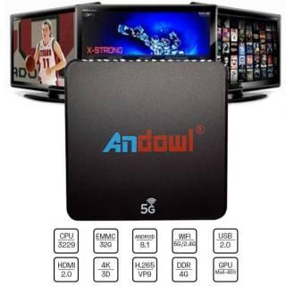 Baazr - Smart Tv Box Andowl Q-M6 Android 8.1 4k 4Gb Ram 32 Gb Rom Iptv 5g Dual Band