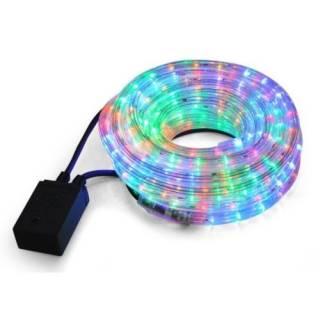 Baazr - Tubo Luminoso Luci Natalizie Addobbi Per Festivita A LED MULTICOLOR 20 Metri