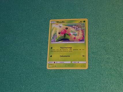 Baazr - Weedle 2/181 Comune - Pokemon Sole Luna Gioco di Squadra - Carta in italiano