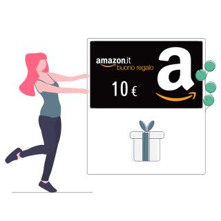 Buono regalo Amazon da 10 euro | Asta online sicura e affidabile su Baazr
