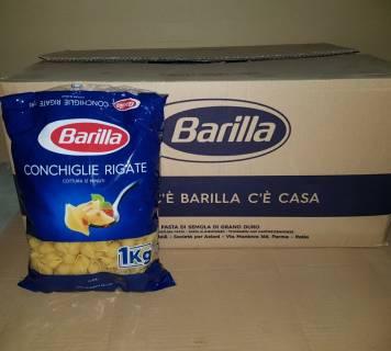 Baazr - Pasta Barilla conchiglie rigate cartone da 18 pz da 1kg