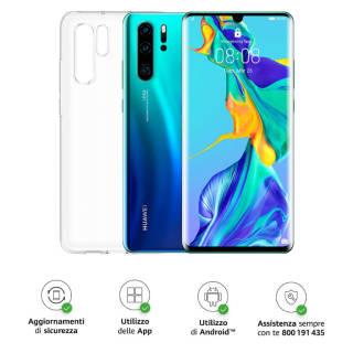 Baazr - Huawei P30 Pro (Aurora) Smartphone + Cover Trasparente