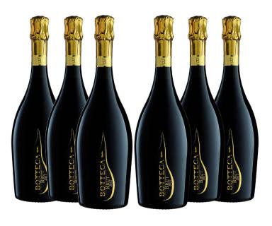 Baazr - Bottega Millesimato Spumante Brut - 6 Bottiglie da 750 ml