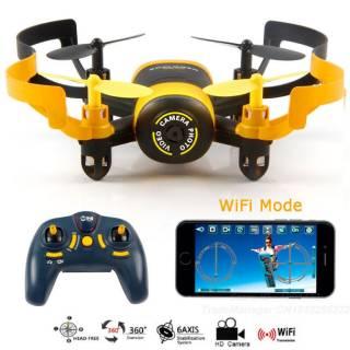 Baazr - Drone quadricottero con telecamera  MINI UFO